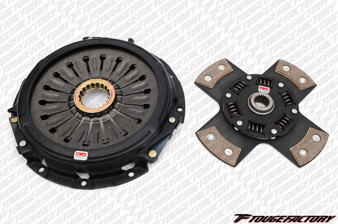"""Competition Clutch """"Sport Compact"""" Performance Kit - Stage 5 - 4 Pad Rigid Ceramic - Lexus IS300 2JZ-GE"""