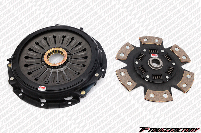 Competition Clutch Stage 4 Sprung - Strip Series 1620 Clutch Kit - 93-98 Toyota Supra 3.0L 2JZ Turbo