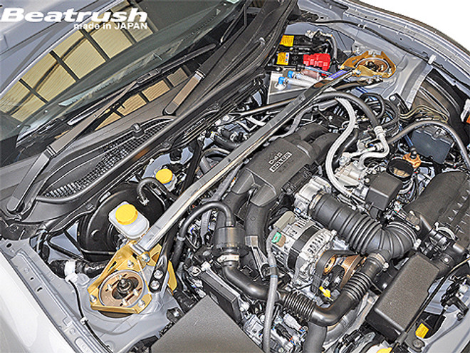 Beatrush Front Strut Tower Bar Scion FRS / Subaru BRZ