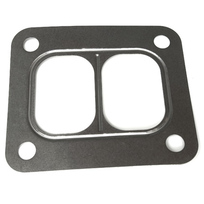 T3 Divided Turbo Inlet Gasket (Twin Scroll) Stainless Steel