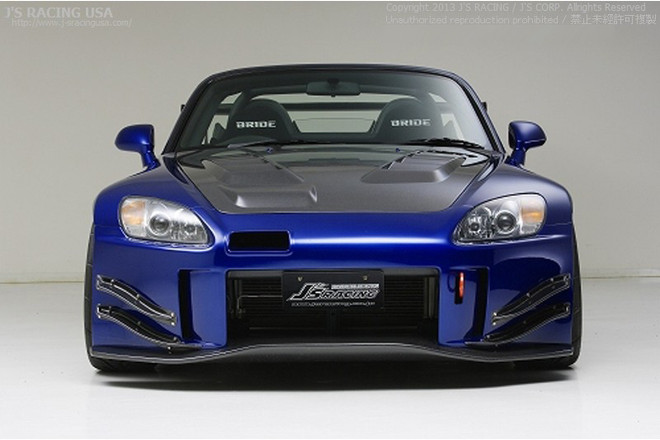 J's Racing Type S Front Bumper CFRP Version 2 - Honda S2000 AP1 AP2