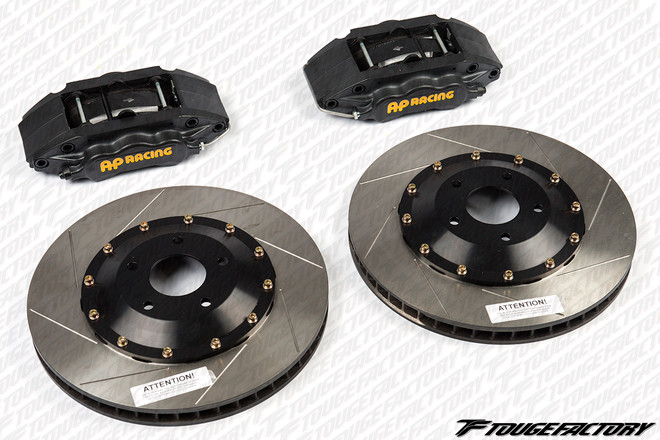 AP Racing Classic Front 4-Piston Big Brake Kit - 330x28mm Disc Size - Subaru Impreza WRX 2002-13