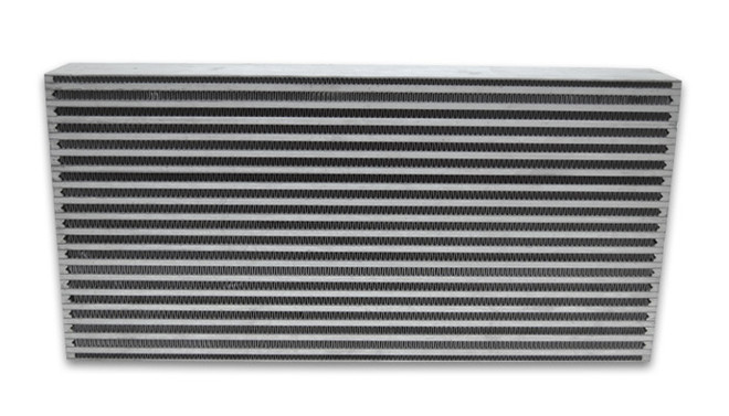 """Vibrant Air-to-Air Intercooler Core (Core Size: 22""""W x 9""""H x 3.25"""" thick)"""