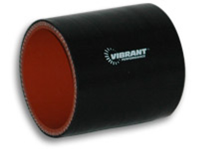 """Vibrant 4 Ply Silicone Sleeve, 1"""" I.D. x 3"""" long"""