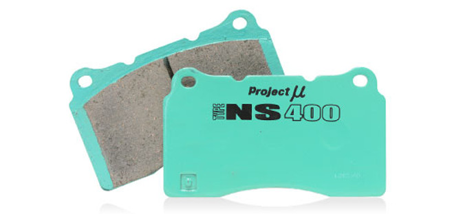 Project Mu NS400 Rear Brake Pads Scion FR-S & Subaru BRZ