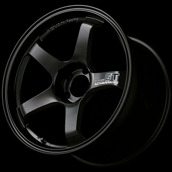 Advan GT 18x8.0 +45 - 5x114.3 - Semi-Gloss Black / Racing White