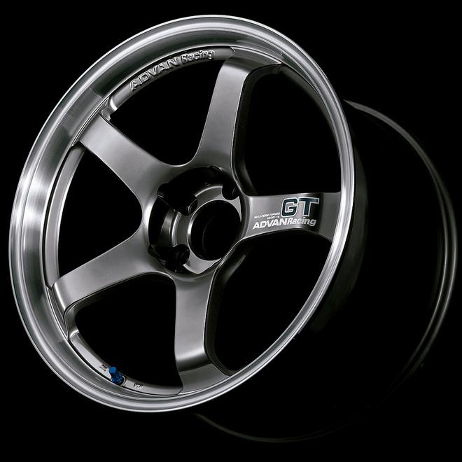 Advan GT 18x10.5 +24 - Racing Metal Black with Machined Lip