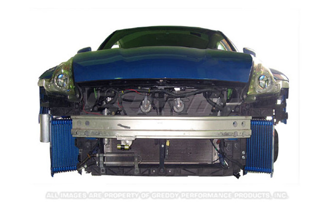 GReddy Nissan 370Z 2009-13 Twin 13 row Oil Cooler Kit