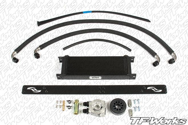 Jackson Racing Engine Oil Cooler Kit for NA Scion FR-S & Subaru BRZ