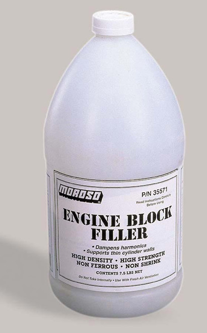 Moroso Engine Block Filler - 1 GAL
