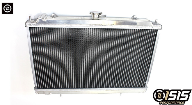 ISR Performance Aluminum Radiator - Nissan 240sx 95-98 w/KA24DE