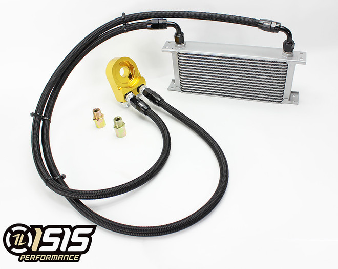 ISR Performance V2 Oil Cooler Kit - Nissan 240sx SR20DET S13 / S14