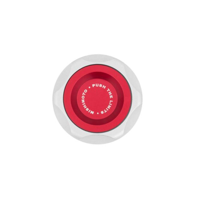 Mishimoto Red Oil Filler Cap - Acura Integra, NSX, Honda Accord, Civic, CRX, S2000