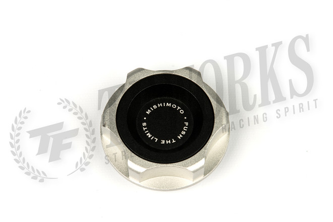 Mishimoto Black Oil Filler Cap - Acura Integra, NSX, Honda Accord, Civic, CRX, S2000