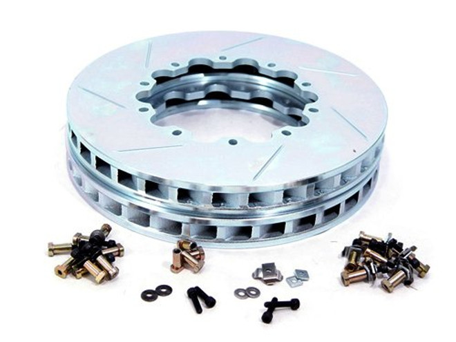 Girodisc 2pc Rear Rotor Ring Replacements for 04-07 STi