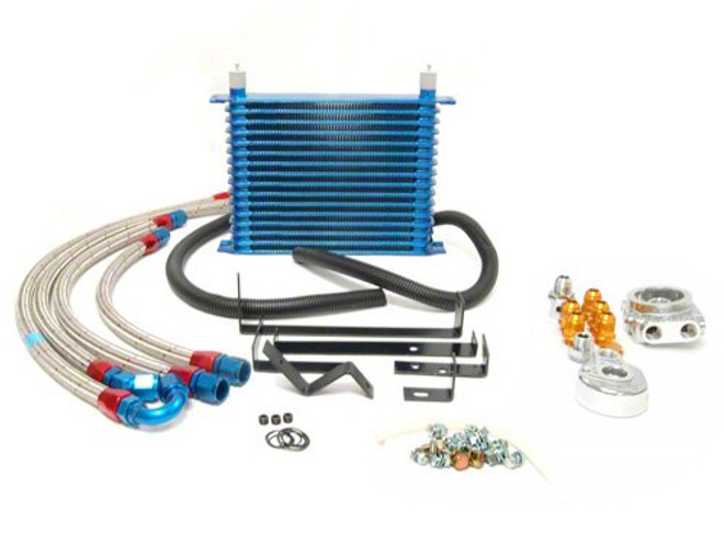 Greddy Oil Cooler 16-Row and Relocation Kit - Nissan S14, S15