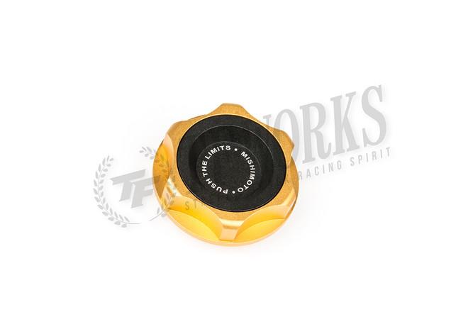 Mishimoto Gold Oil Filler Cap - FR-S/BRZ