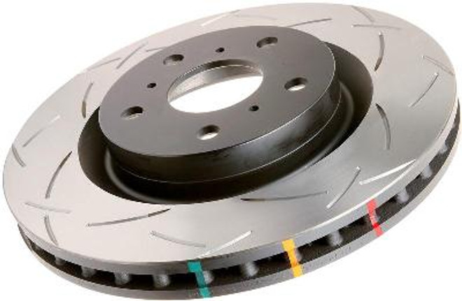 DBA Street Series Slotted Disc Brake Rotors - 89-96 Nissan 300ZX