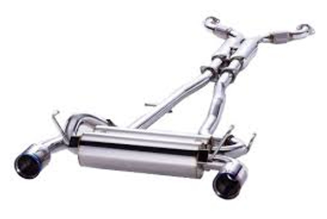 HKS Full Dual System Exhaust - 03-09 Nissan 350Z