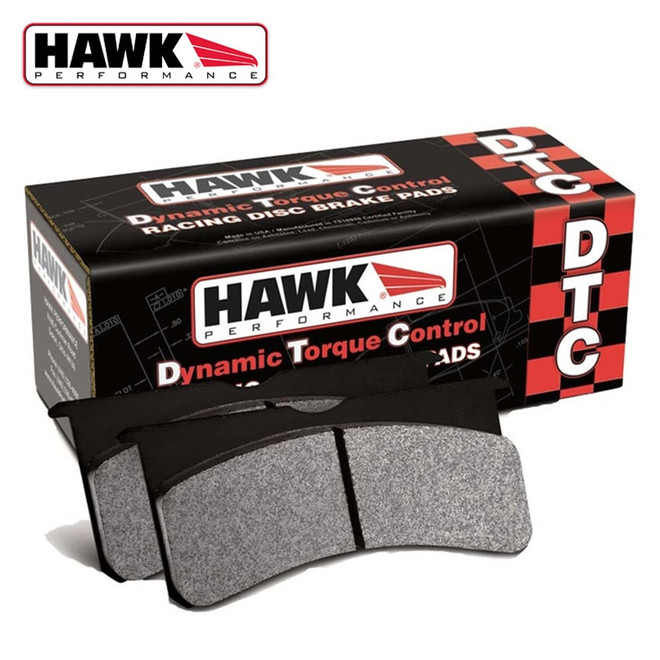Hawk Performance DTC 30 Rear Brake Pads - 09-14 Nissan 370Z