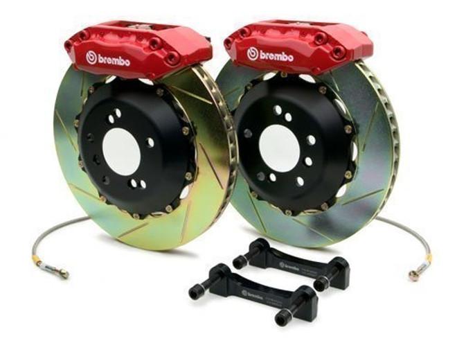 Brembo Red Front Slotted Big Brake Kit - 99-02 Nissan Skyline GT-R R34