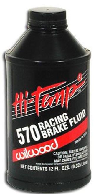 Wilwood Hi Temp 570 Racing Brake Fluid 12 oz Bottle