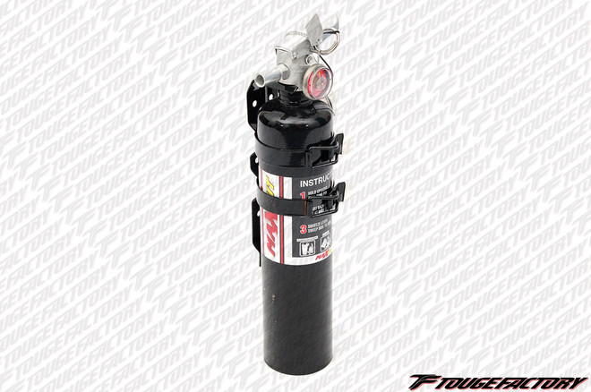 Maxout H3R Dry Chemical Fire Extinguishers 2.5 Pound - BLACK