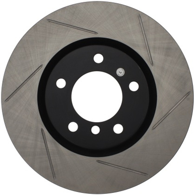 Stoptech Sport Slotted Front Right Rotors - 95-99 BMW M3 E36