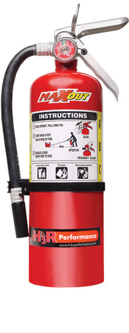 Maxout H3R Dry Chemical Fire Extinguishers 5.0 Pound - RED