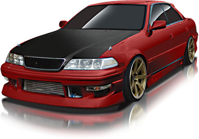 Origin Toyota Mark II Stream Line Full Aero Kit - JZX100