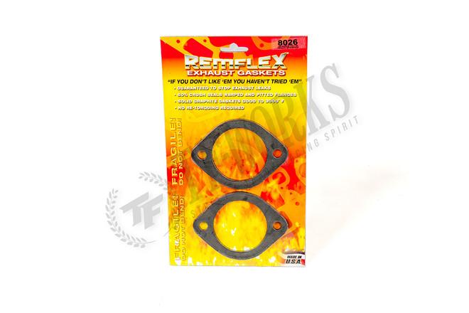 """Remflex 2-1/2"""" Graphite2-Bolt Collector Exhaust Flange Gasket"""