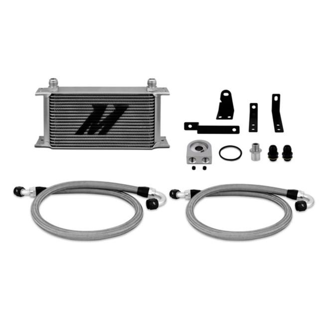 Mishimoto Silver Non-Thermostatic Oil Cooler Kit - 00-09 Honda S2000