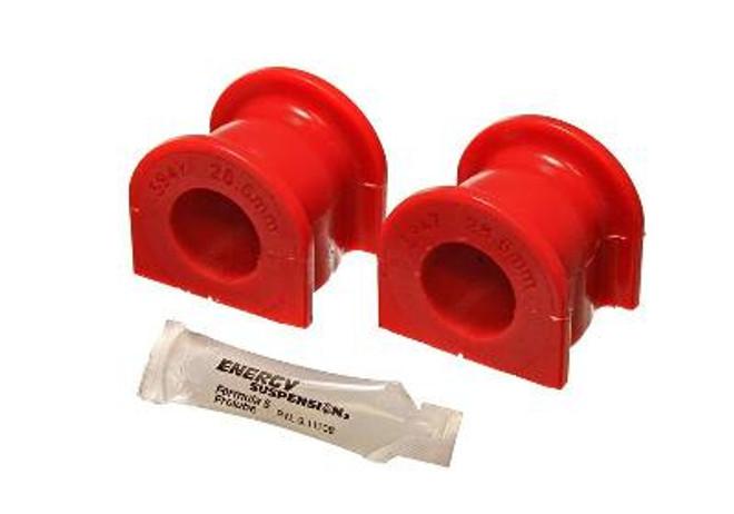 Energy Suspension Red Front Sway Bar Bushings 28.6mm - 00-09 Honda S2000