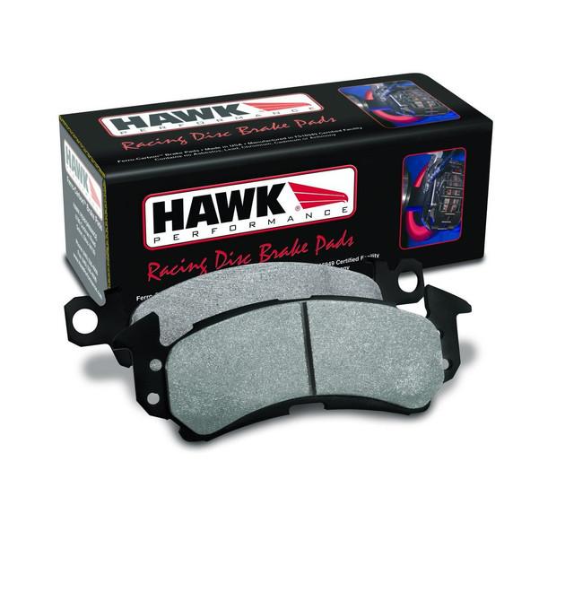 Hawk HT-10 Compound Rear Racing Brake Pads - 03-14 Mitsubishi Evolution 8,9,X