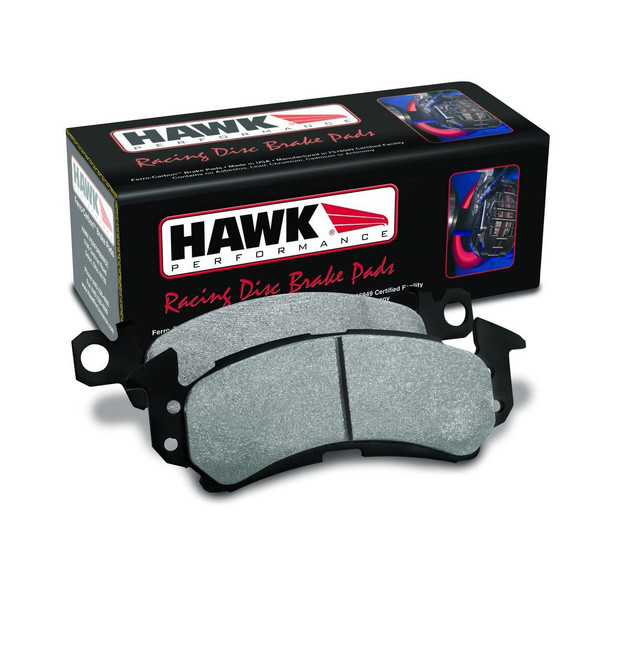 Hawk HT-10 Compound Rear Racing Brake Pads - 03-14 Mitsubishi Evolution 8,9,X