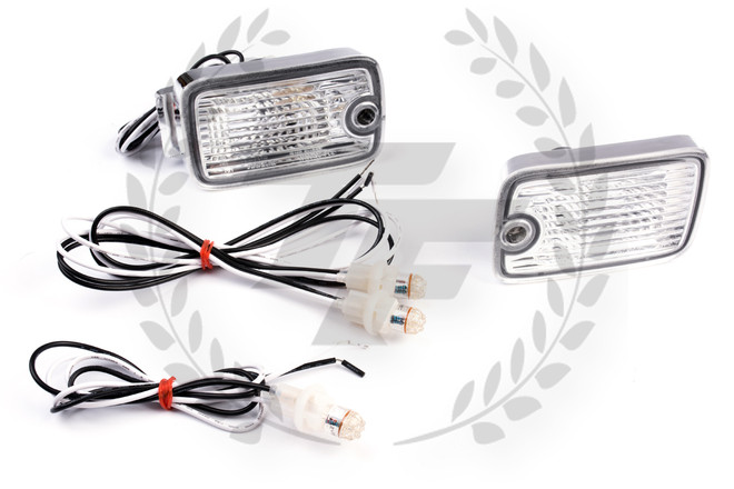 Circuit Sports - Nissan 180SX Type-X Dual LED Front Turn Signal Lamp