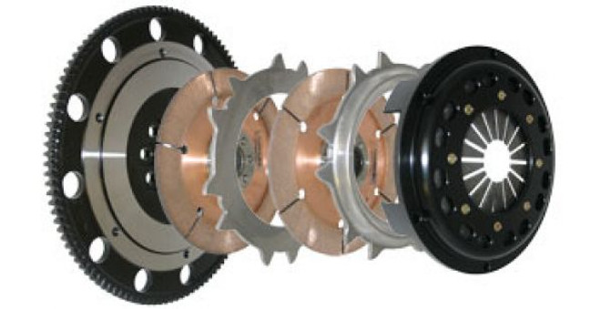 Competition Clutch Twin Disc Assembly - 03-06 Mitsubishi Evolution 8/9