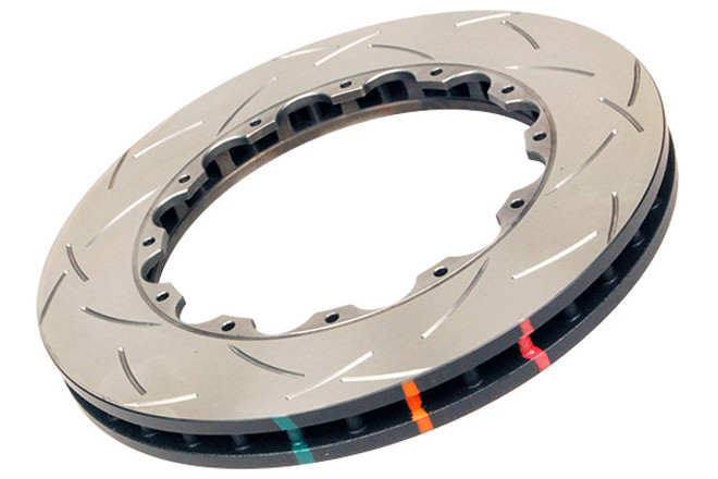DBA 5000 Series Slotted Replacement Disc Front Brake Rotors - 08-11 Mitsubishi Evolution X