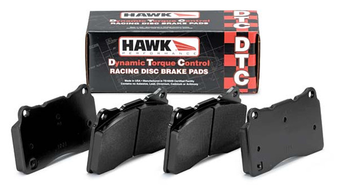Hawk Performance DTC-60 Rear Brake Pads - 86-95 Mazda RX-7