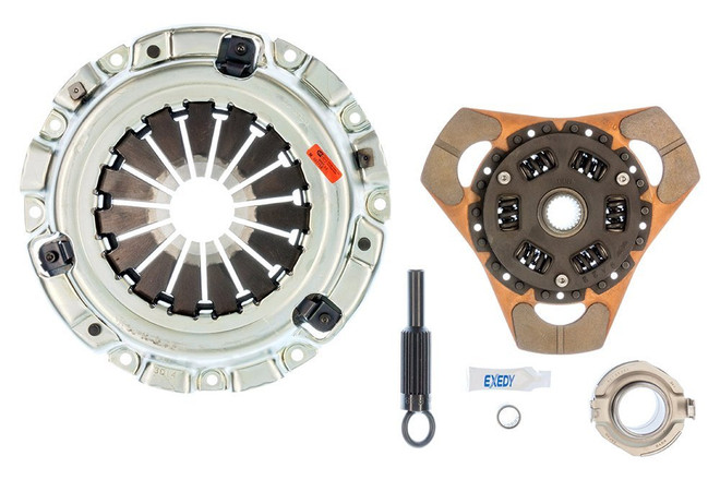 Exedy Stage 2 Cerametallic Racing Clutch Sport Kit - 86-91 Mazda RX-7
