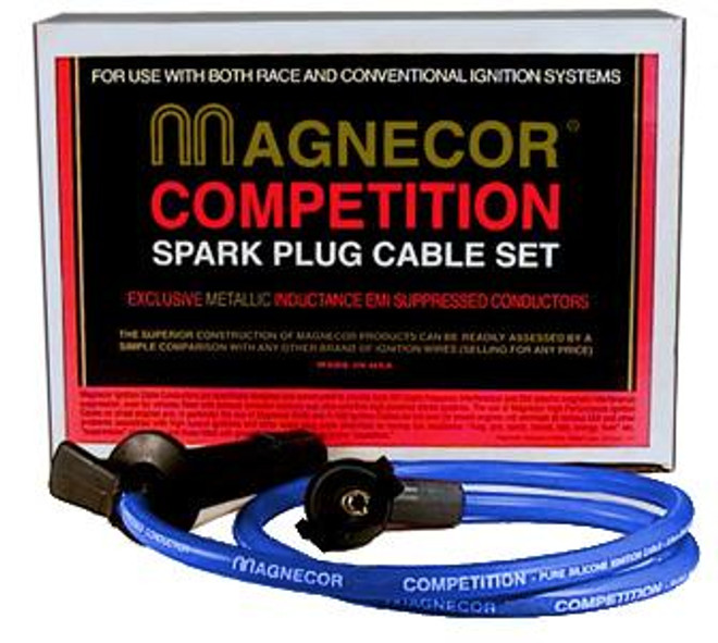 Magnecor Electrosports 80 8mm Plug Wires - 86-92 Mazda RX-7