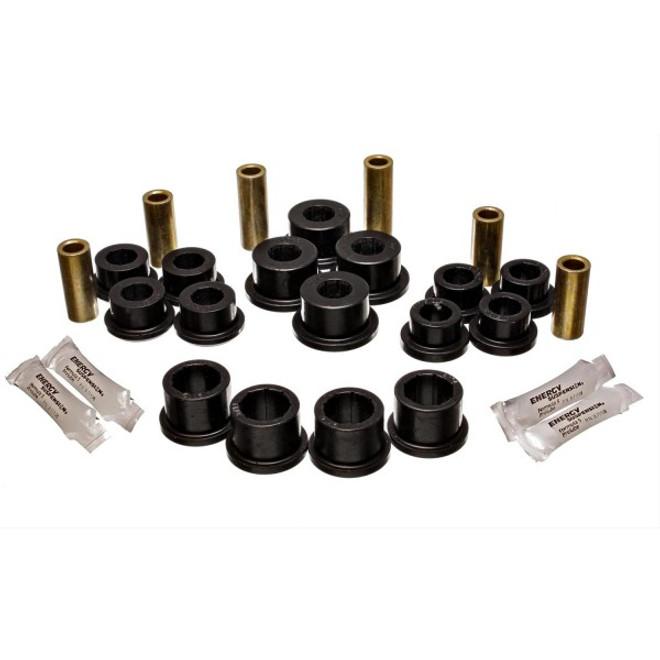 Energy Suspension Black Front Control Arm Bushing Set - 04-11 Mazda RX-8