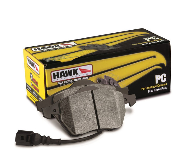 Hawk Performance Ceramic Front Brake Pads - 90-93 Mazda Miata