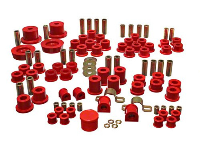 Energy Suspension Red HyperFlex Master Kit - 90-97 Mazda Miata