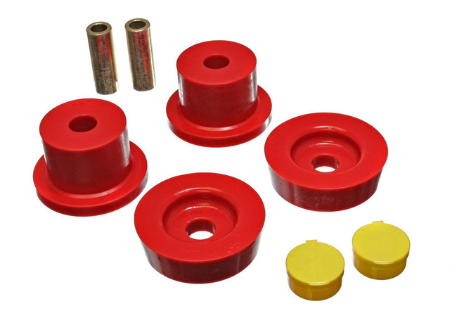 Energy Suspension Red Differential Carrier Bushing Set - 90-97 Mazda Miata