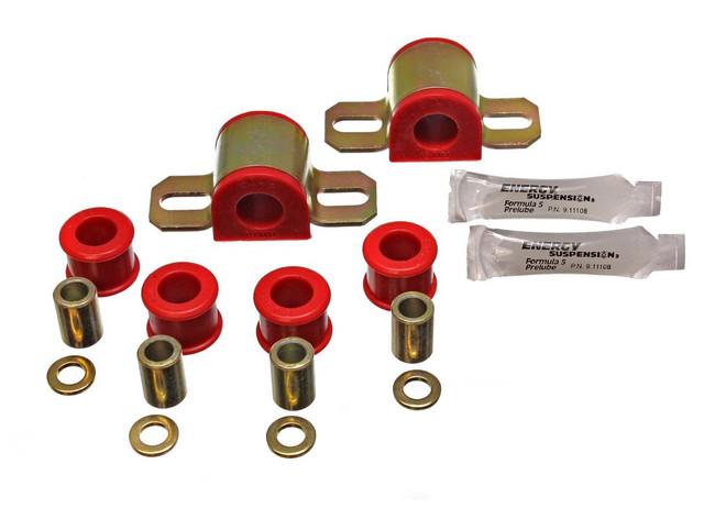 Energy Suspension Red Front Stabilizer Bar Bushing - 90-97 Mazda Miata