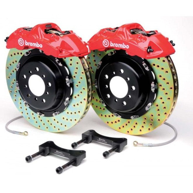 Brembo Red Slotted Front GT Big Brake Kit - 06-15 Mazda Miata