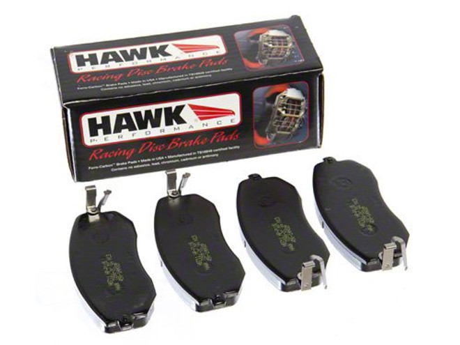 Hawk Rear HP Plus Brake Pads - 06-14 Mazda MX-5 Miata