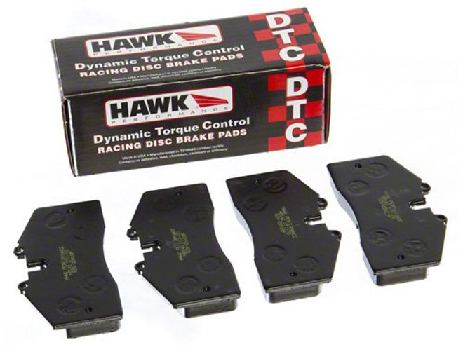 Hawk Rear DTC-60 Brake Pads - 06-14 Mazda MX-5 Miata