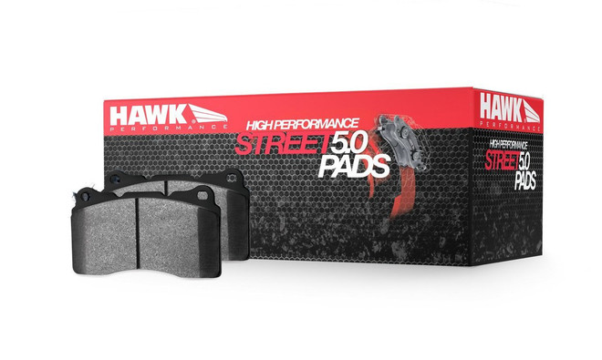 Hawk Performance HPS 5.0 Disc Front Brake Pads - 06-14 Mazda MX-5 Miata